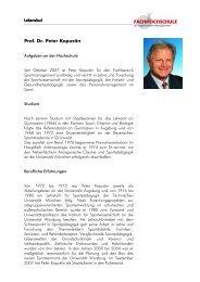Prof. Dr. Peter Kapustin