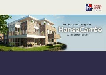 HanseCarrée - Wohnungen in Lüneburg