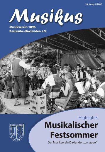 7012 Musikus 4 2007 RZ.indd - Musikverein Daxlanden