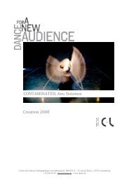 Creation 2008 CONTAMINATED, Anu Sistonen - Le Trois C-L