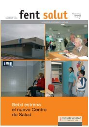Betxí estrena el nuevo Centro de Salud - Hospital de la Plana