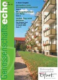 wbg-leben - 'Erfurt' eG