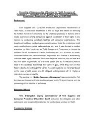 Proceedings - Civil Supplies and Consumer Protection Department