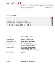 detaljni plan uređenja naselja deklići - Istarska županija