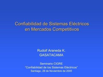 Confiabilidad de Sistemas Eléctric Eléctricos en Mercados ... - Cigré