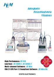 High Perfomance: AT-510 Low Cost : AT-500N-1, AT-500N-2 Multi ...