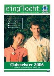 Ausgabe September 2006 - Golf Club Gut Freiberg