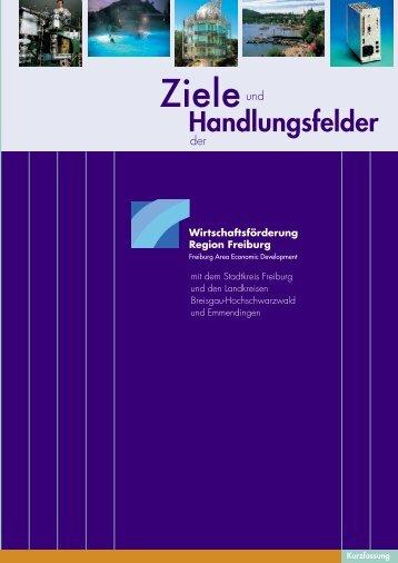Z+H_D_2009.pdf 2,45 MB - Wirtschaftsförderung Region Freiburg eV