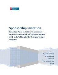 Sponsorship Invitation