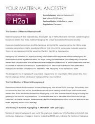 Maternal Haplogroup H - Philosophy and Religion