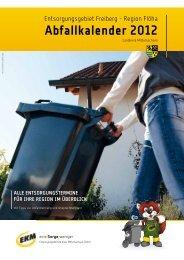 Abfallkalender 2012 - Gemeinde Eppendorf