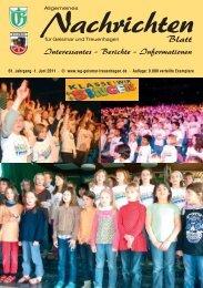 Nachrichtenblatt Juni 2011 - Werbegemeinschaft Geismar ...