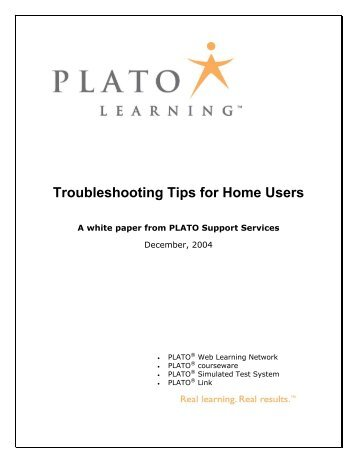 Troubleshooting Tips for Home Users