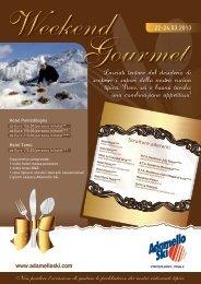 Ristoranti convenzionati con Weekend Gourmet - Adamello Ski