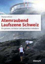 Flyer zum Buch Atemraubend - Steinhölzlilauf
