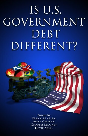 US Government Debt Different - Finance Department - University of ...