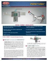 PISTA® TURBO™ Grit Washer Bulletin - Smith & Loveless Inc.