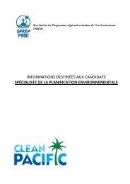 b. description du poste - Direction de l'environnement de la ...
