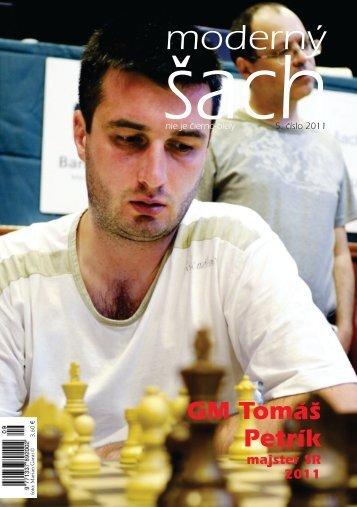 GM Tomáš Petrík majster SR 2011 - ŠK Slovan Bratislava