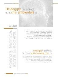 Heidegger, la tecnica e la crisi ambientale - Enea