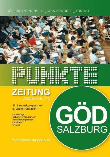 GÖD - Landesvorstand Salzburg - Gewerkschaft Öffentlicher Dienst