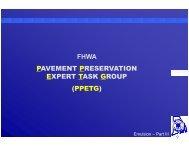 ppetg - The National Center for Pavement Preservation