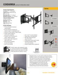 Series 63HDARMUA product information sheet - DWG