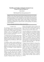 Modelling and Nonlinear Estimation Strategies for an Ethanol ...