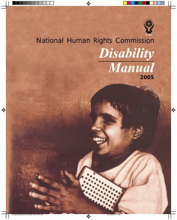 Disability Manual - National Human Rights Commission