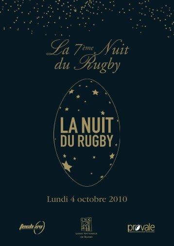 Téléchargement plaquette de la nuit du rugby (PDF). - Claudine Cop ...