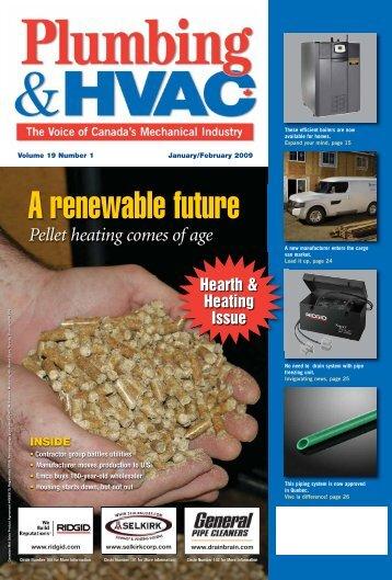 A renewable future - Plumbing & HVAC