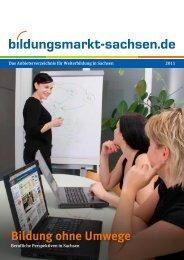 Bildung ohne Umwege - Bildungsmarkt-Sachsen.de