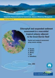 Chlorophyll and suspended sediment assessment in a ... - OzCoasts