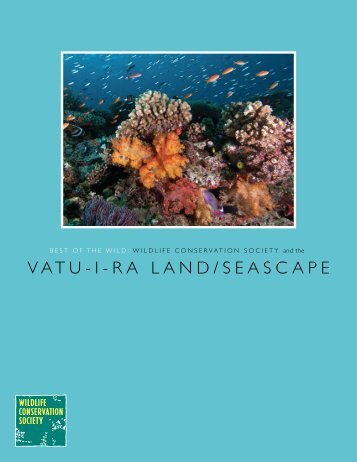 RaLand / SeaScape [PDF] - Wildlife Conservation Society