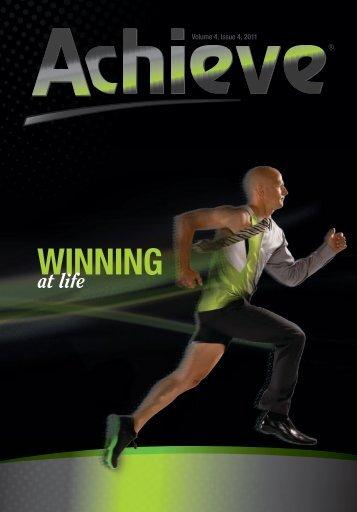 Athletes, Volume 4, Issue 4, 2011 - Amway Achieve Magazine
