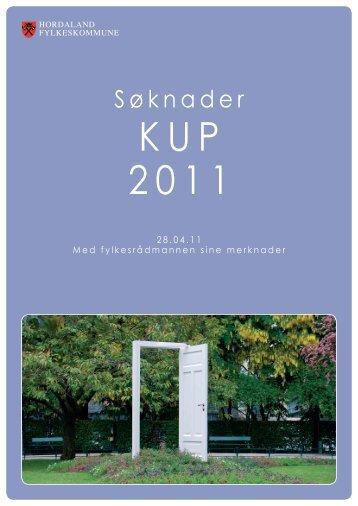 KUP 2011 - Politiske saker - Hordaland fylkeskommune
