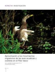 Aproximación a los movimientos migratorios de las aves acuáticas y ...