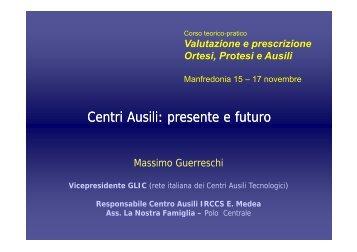 Centri Ausili: presente e futuro - Simferweb.net