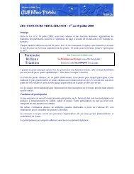 Règlement - Rillieux Lyon Triathlon
