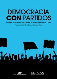 Democracia con Partidos - Centro de Estudios Públicos
