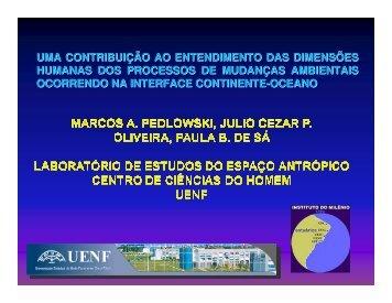 Pedloviski, M.A - Instituto do Milênio Estuários
