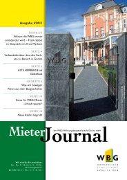 MieterJournal I/2011 - WBG Wohnungsbaugesellschaft Görlitz mbH