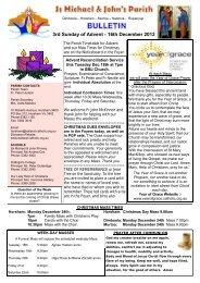 3rd Sunday of Advent C - Catholic Diocese of Ballarat