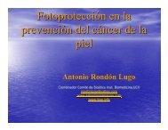 de melanoma - Antonio Rondón Lugo