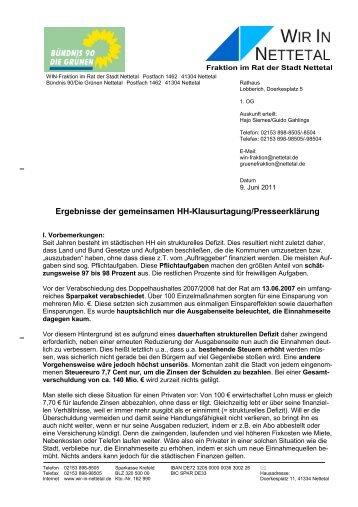 Das gesamte Dokument als PDF - Wir in Nettetal