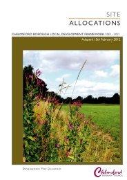 SITE ALLOCATIONS - Chelmsford Borough Council