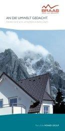 Braas Das umweltfreundliche Dach