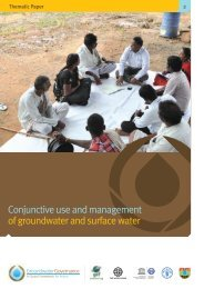 Conjunctive use and management of groundwater and ... - FAO