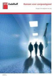 Kansen voor zorgvastgoed - DTZ Zadelhoff