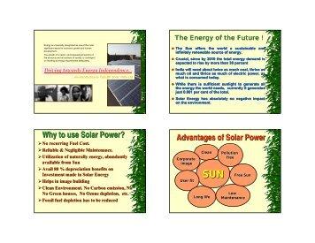 Solar Water Heater Systems - Delhi Transco Limited